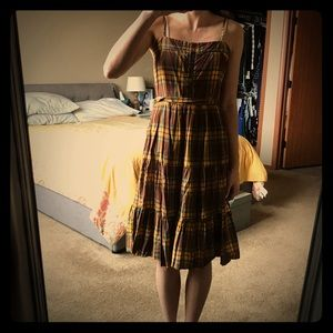 Strappy Dress with Tie